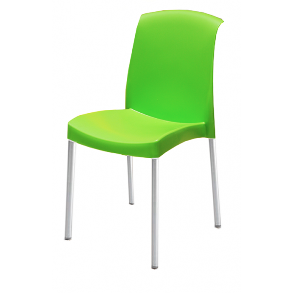 Silla Bread Verde | Silla, Silla de plástico, Silla contemporánea ...