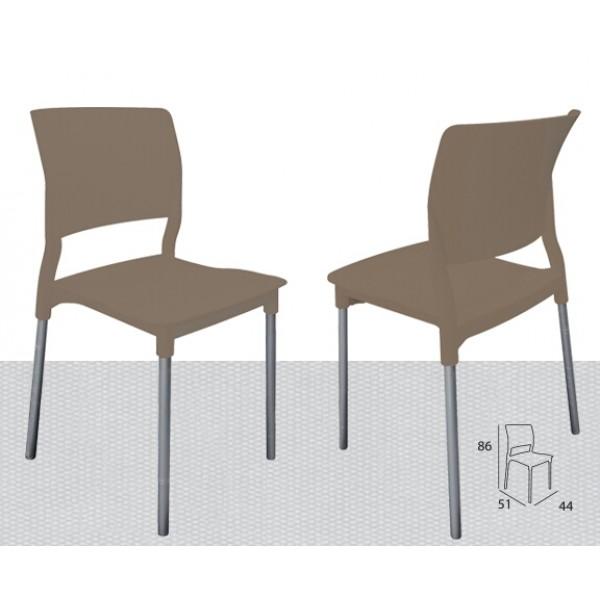 Silla Sinsajo | Silla, Silla de plástico, Silla contemporánea, Silla ...